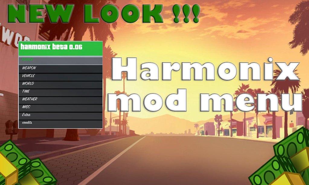 Harmonix Mod Menu