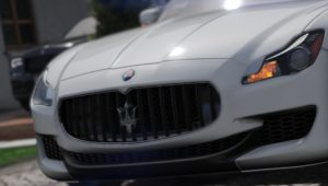 2015 Maserati Quattroporte GTS [Add-on/Replace]