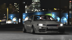 Nissan Skyline R34 GTT Clinched Widebody [REPLACE]