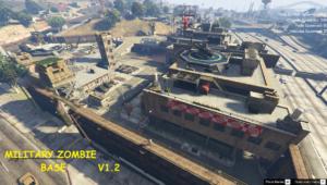 Military Zombie Base [Menyoo]