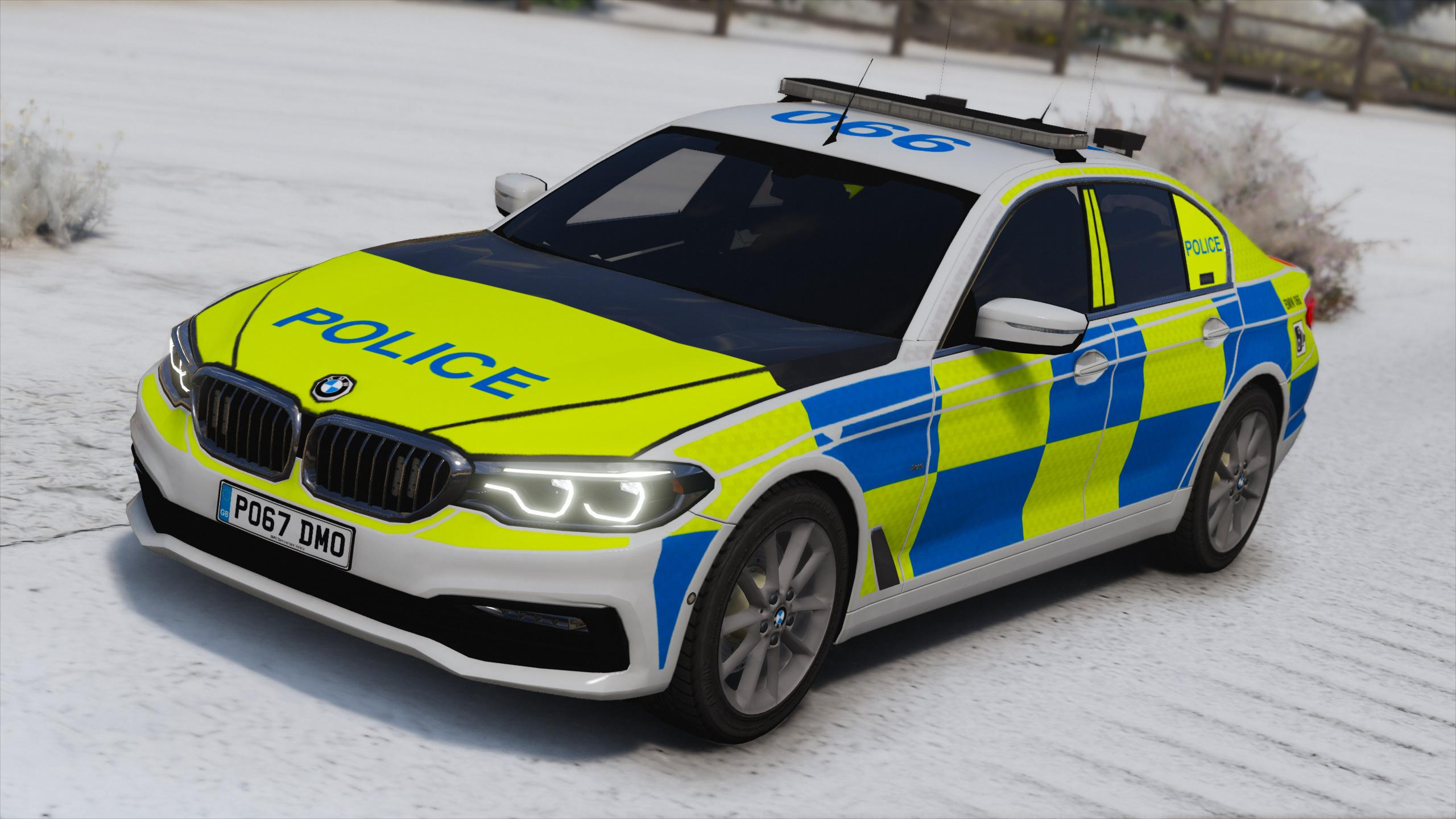 2017 Police BMW G30 5-Series [Replace | ELS]