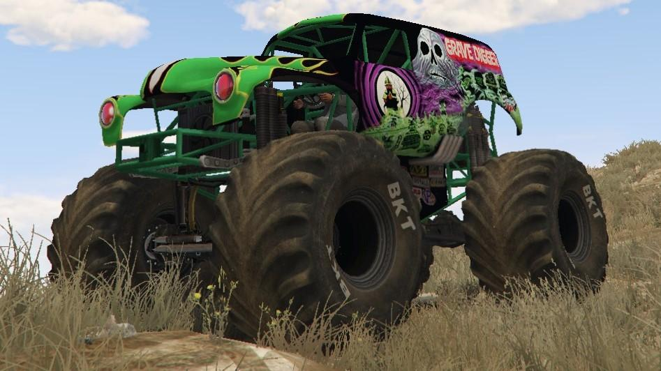 Monster Jam: Grave Digger! [Replace/Template]