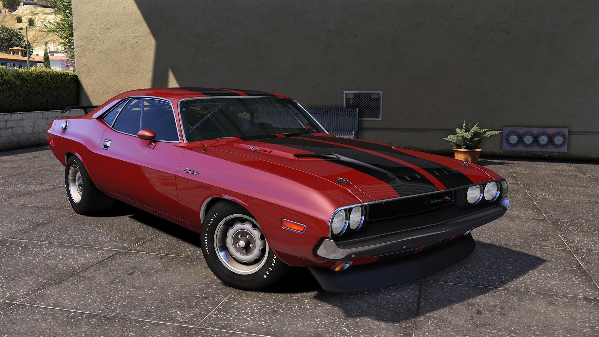 1970 Dodge Challenger R/T Hemi [Add-On]