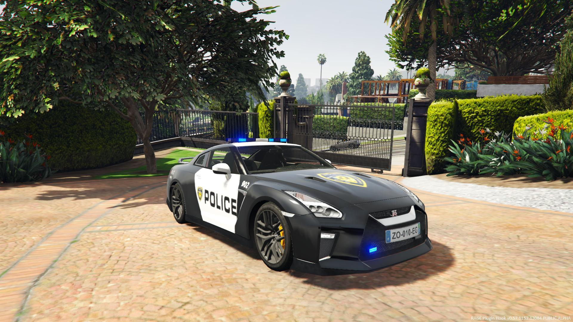 POLICE Nissan GTR 2017 | ELS | LS | Los Santos