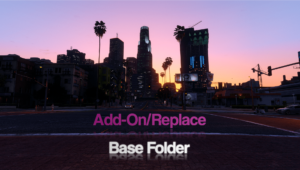 Add-On/Replace Base Folder [Vehicles | Weapons | Textures]