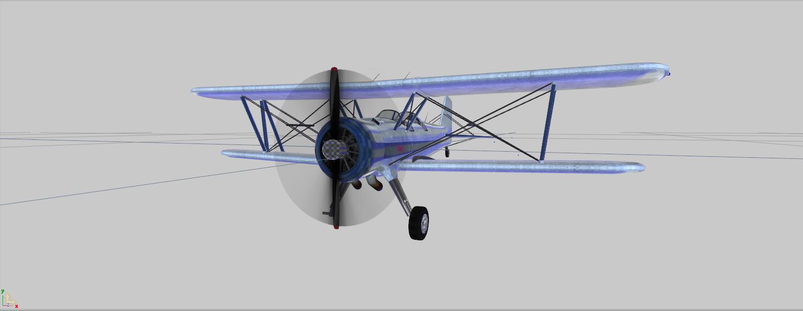Biplane [ZModeler3/UNLOCKED]