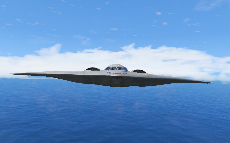 Обои B-2a, стратегический, бомбардировщик. Авиация foto 4