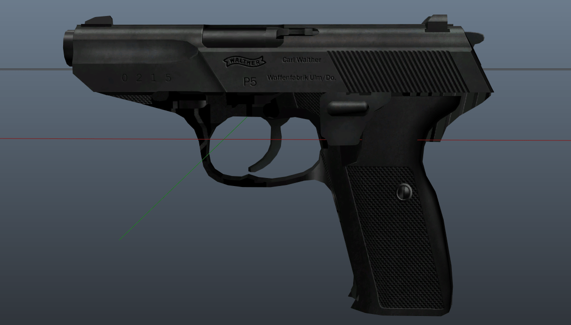 Walther p5 [Replace][Animated]