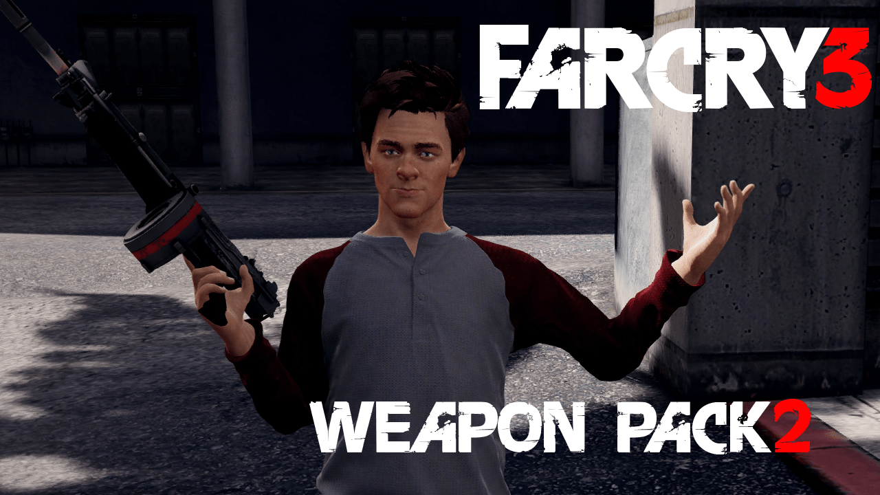 Far Cry 3 Weapons Pack 2