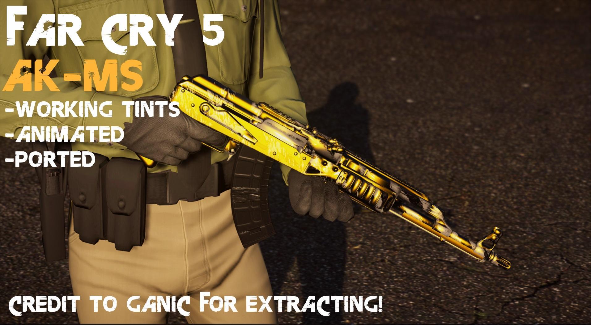 Far Cry 5 AK-MS