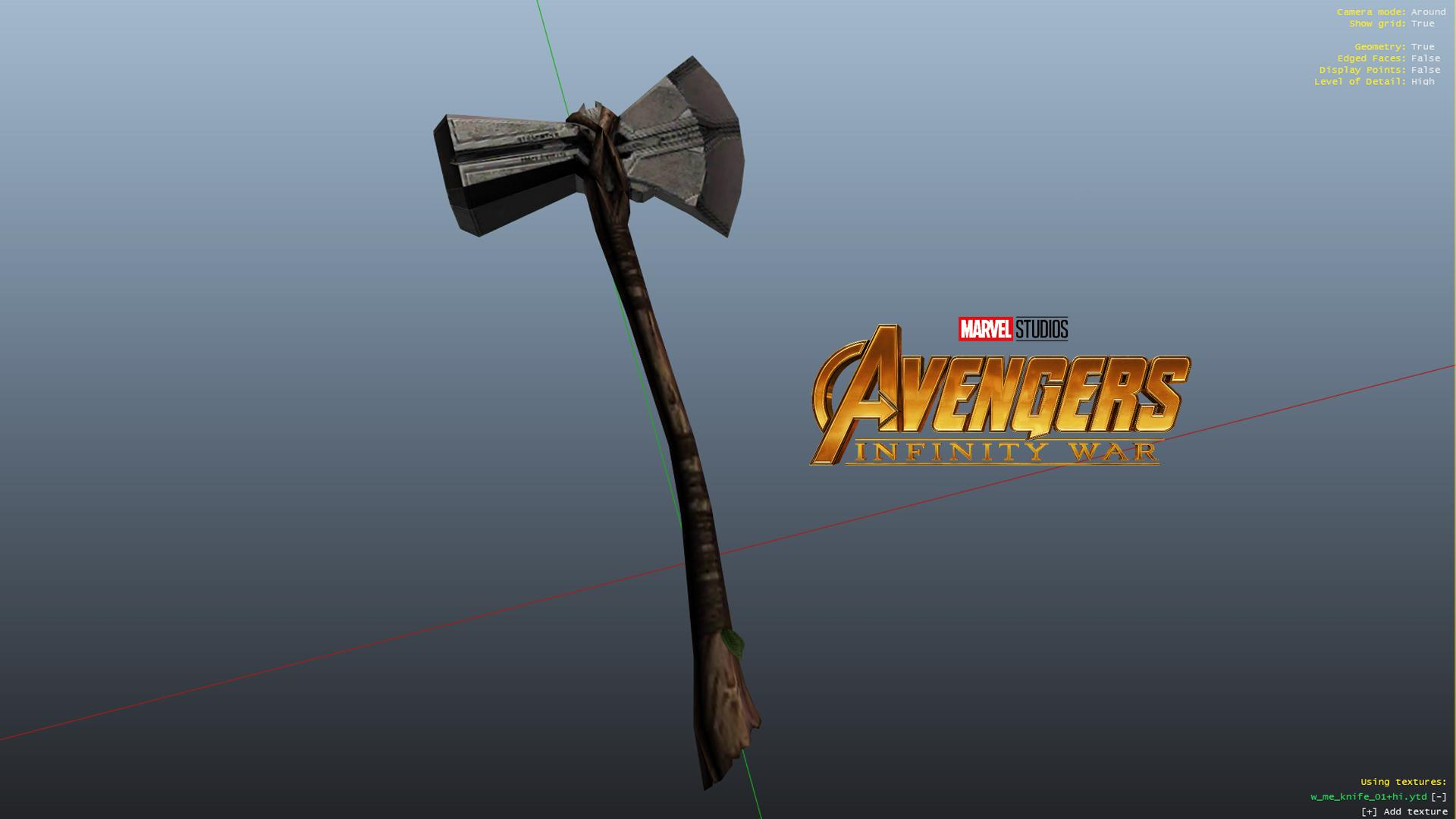 Storm Breaker (Avengers Infinity War Thor's weapon)