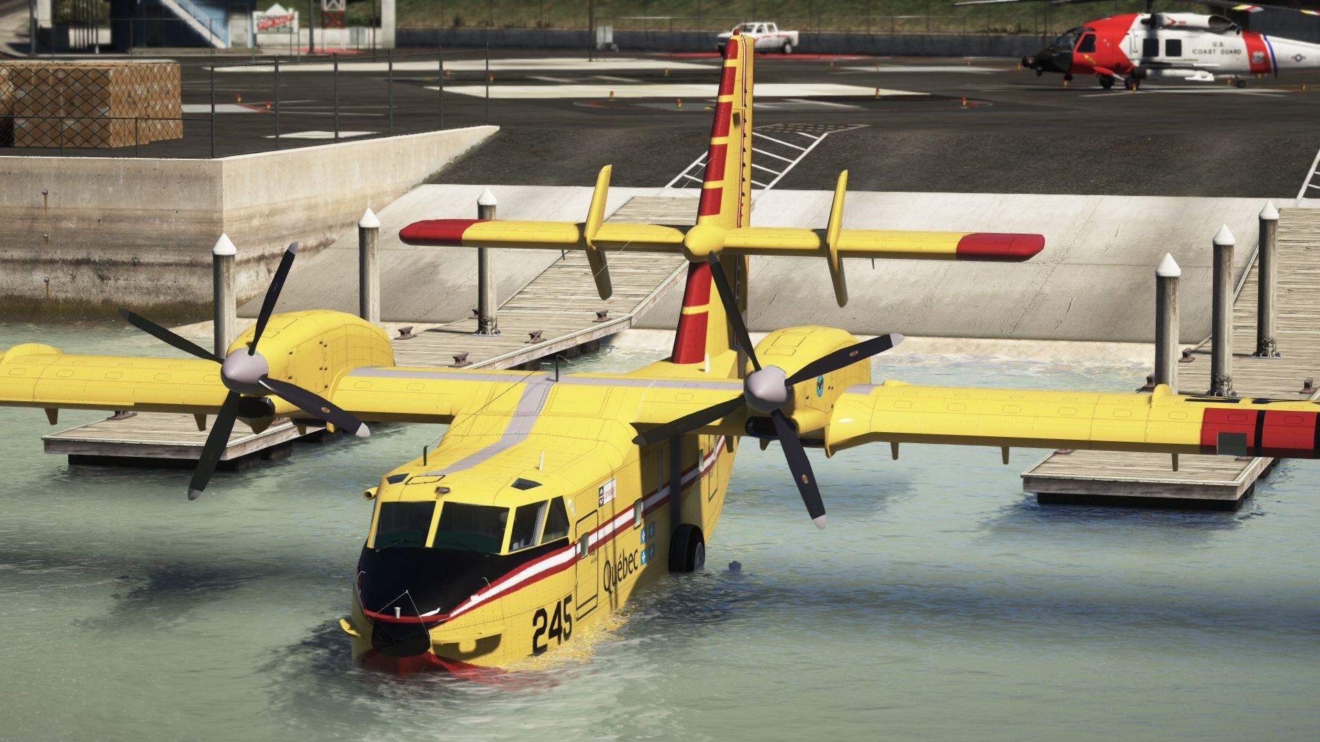 Обои амфибия, Bombardier, Самолёт, Вода. Авиация foto 19