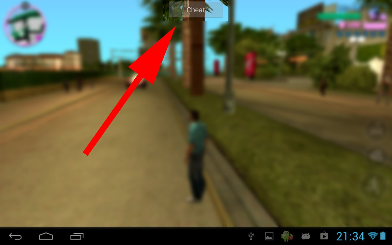 Скачать GTA Vice City Cheater APK для Android