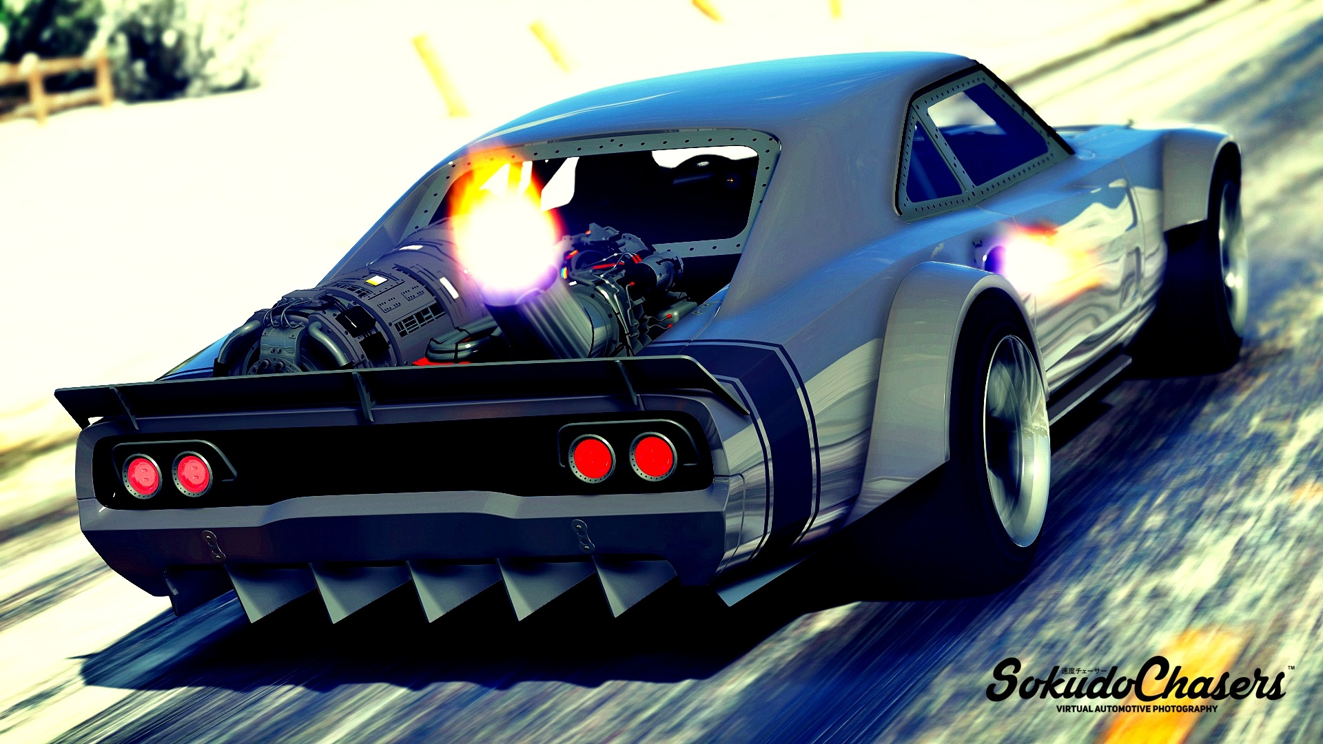 Dodge Charger Fast & Furious 8 [ADDON-REPLACE-HQ]