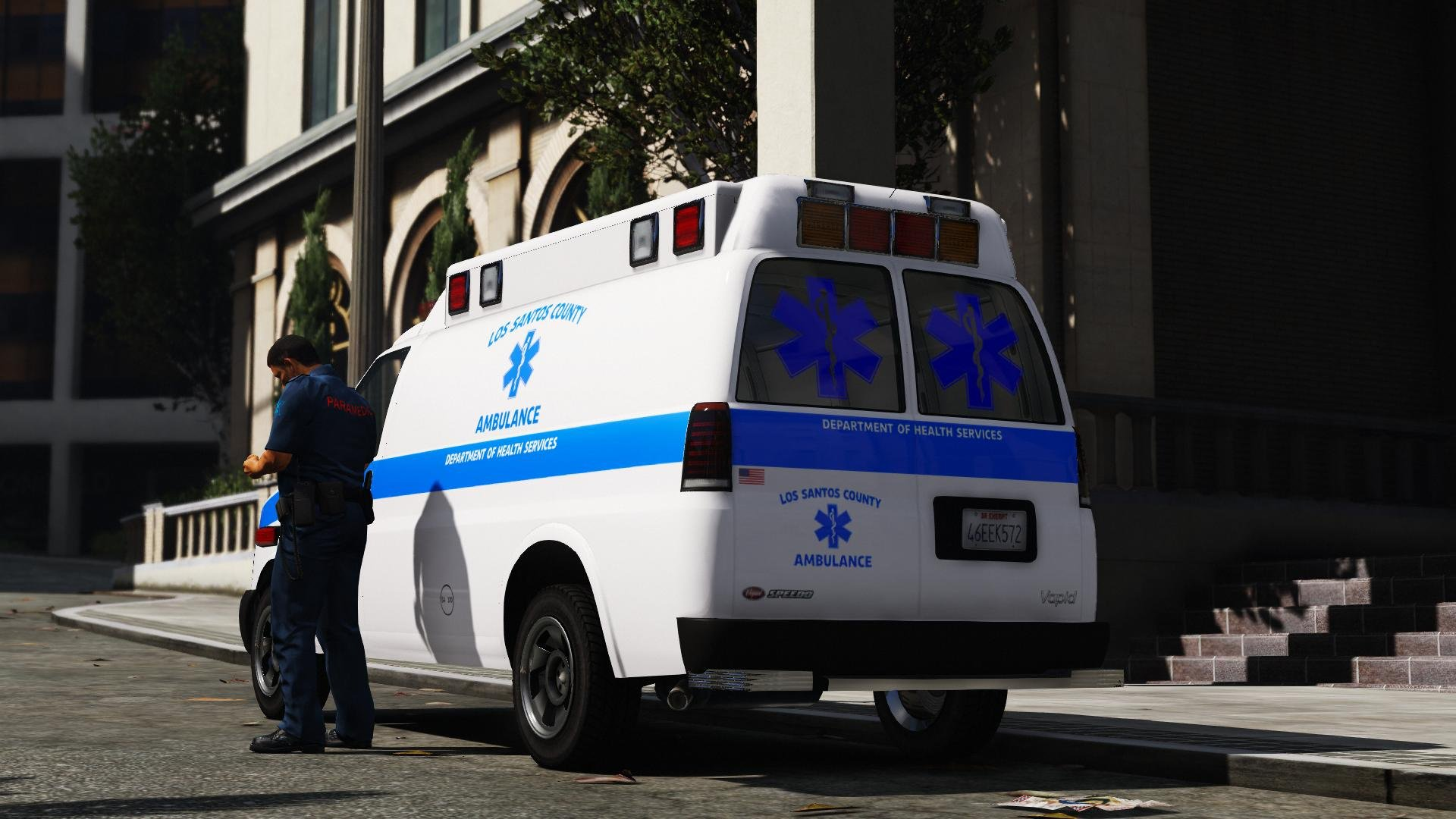 Vapid Speedo - Ambulance [Add-On | Liveries]