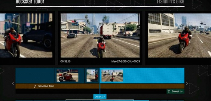 Описание функций видеоредактора GTA 5