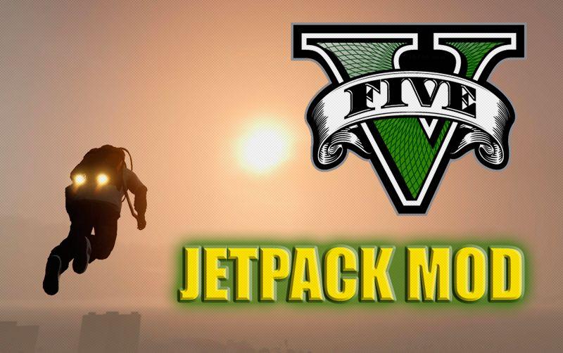jetpack mod gta V