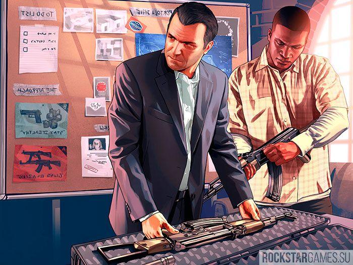 Первое ограбление GTA 5