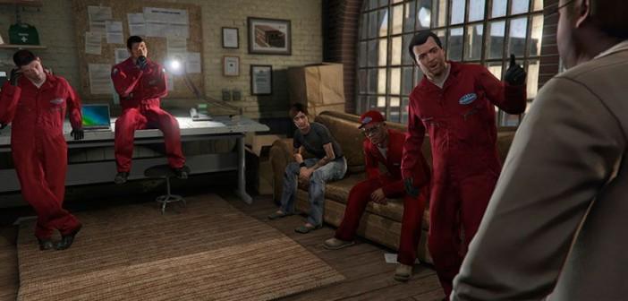 Ограбление ювелирного - миссия GTA 5