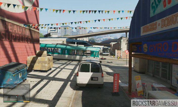 Чоп - миссия GTA 5