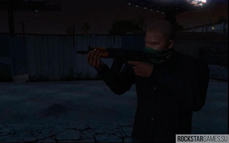 Скачать мод AK74U