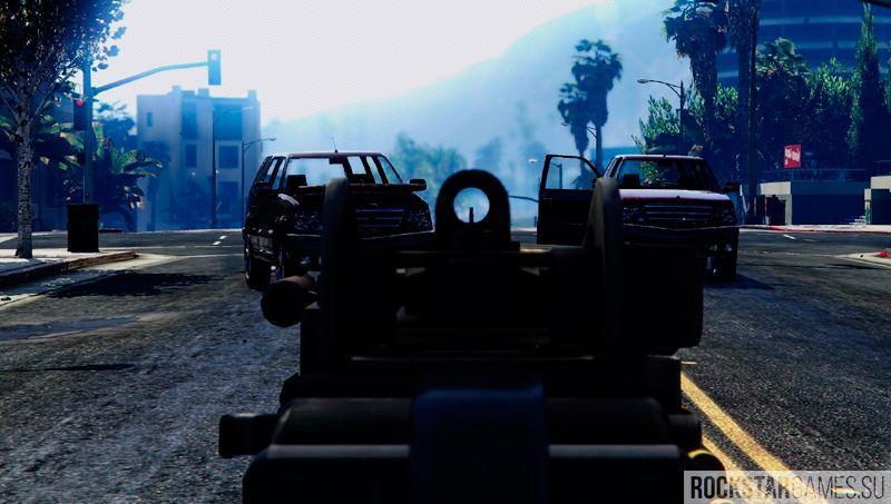 Battlefield 4 M249 текстуры