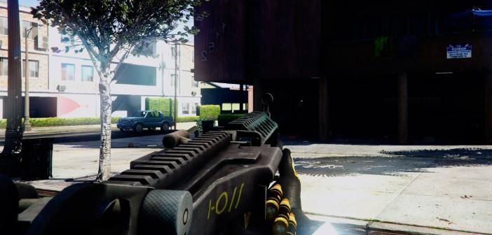 Battlefield 4 M249 Minimi GTA 5