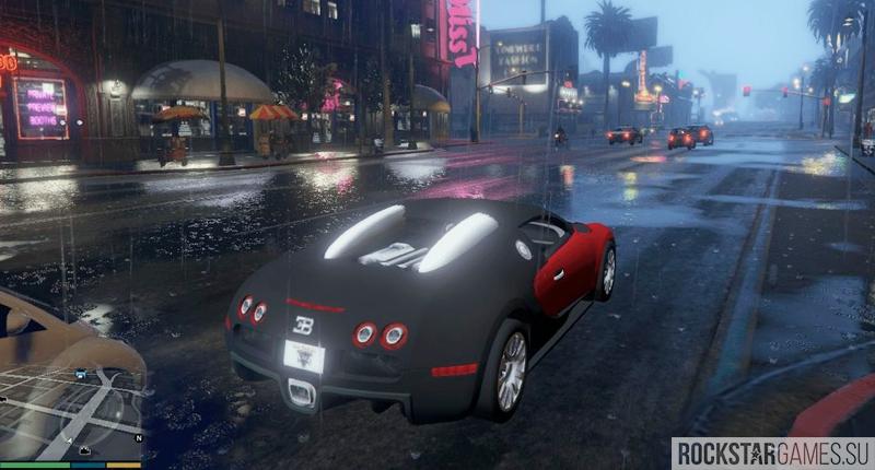 GTA 5 Modern Cars — Bugatti Veyron