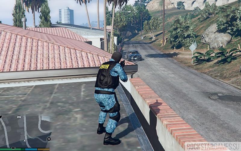 Мод скин OMOH Russia для GTA 5