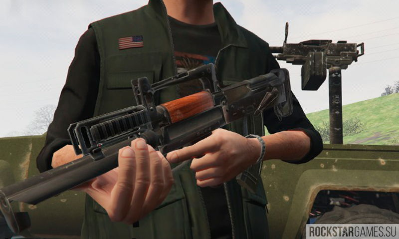 Battlefield 4 Weapons Pack для ГТА 5