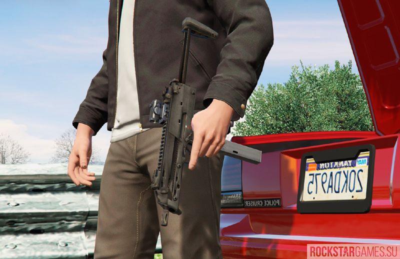 Battlefield 4 Weapons Pack моды оружия для GTA 5
