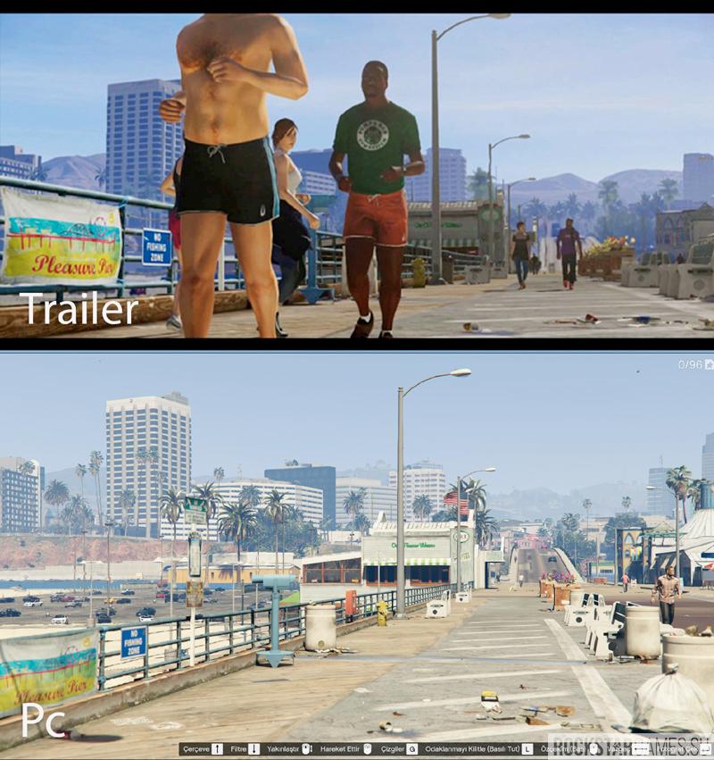 gta v trailer graphics — мод графики как в трейлере