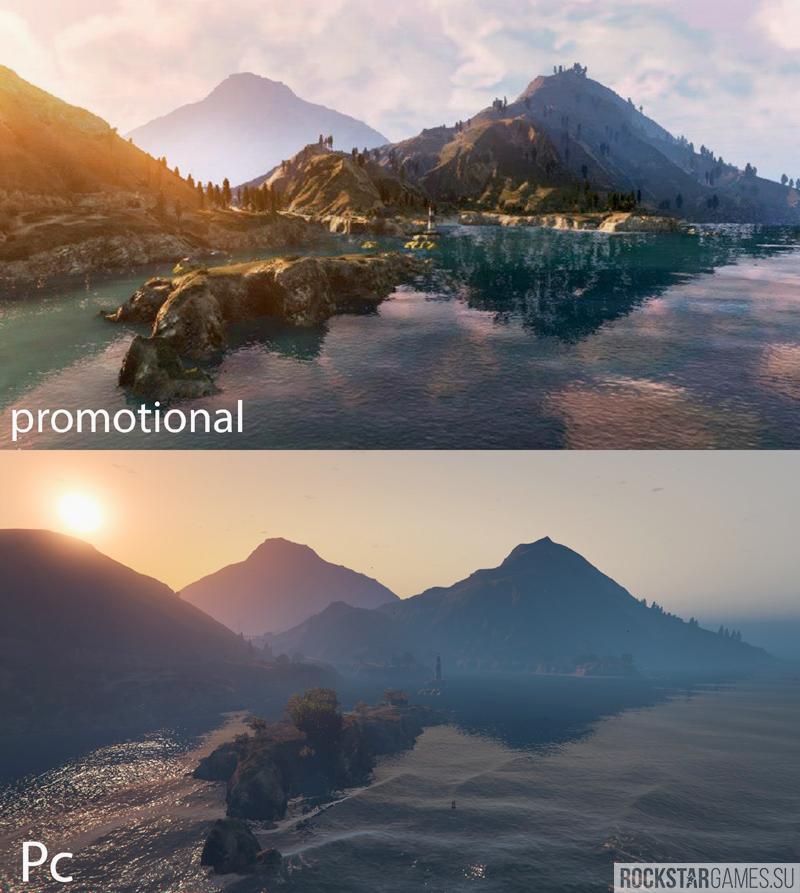 gta v trailer graphics — мод промо графики в гта 5