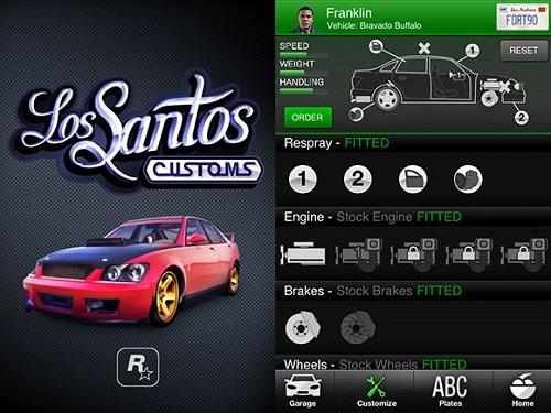 GTA 5 ifruit - функция настройки автомобилей