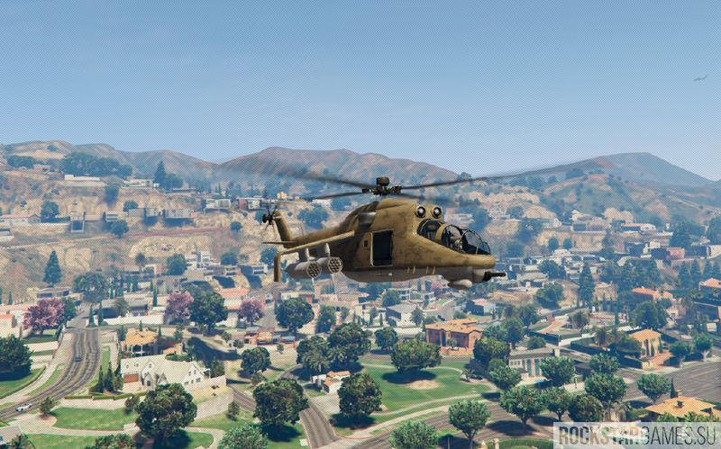 Russian Savage Mi24 мод GTA 5