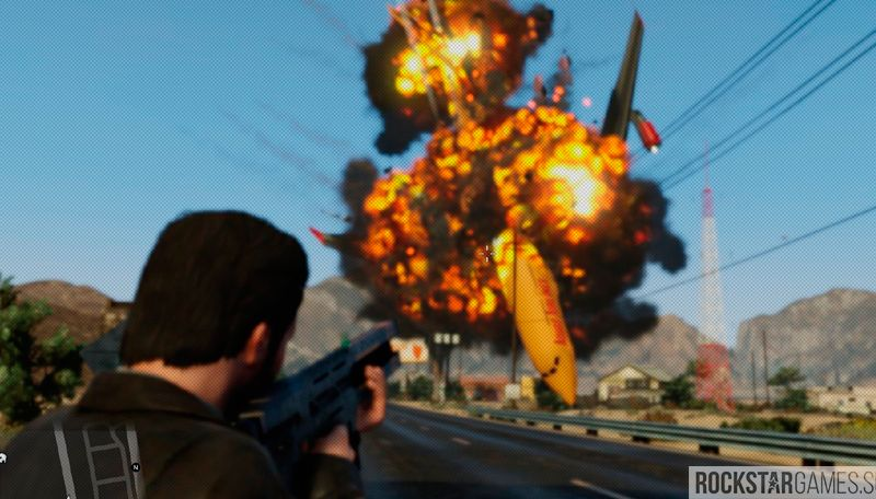 оverhaul explosions gta 5