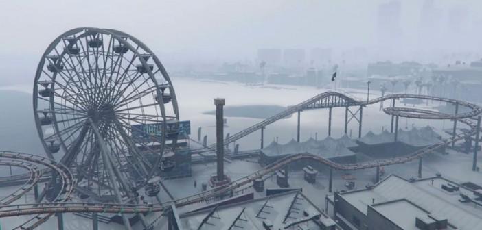 Singleplayer Snow снег в GTA 5