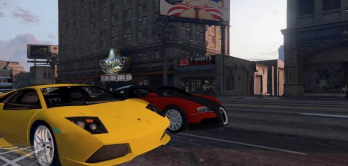GTA 5 Modern Cars — современные машины