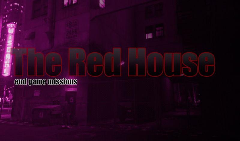 Дополнительные миссии в ГТА 5 с модом The Red House