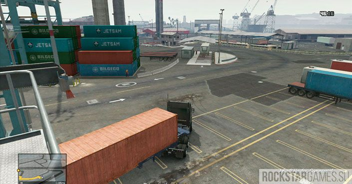 Разведка в порту - миссия в GTA 5