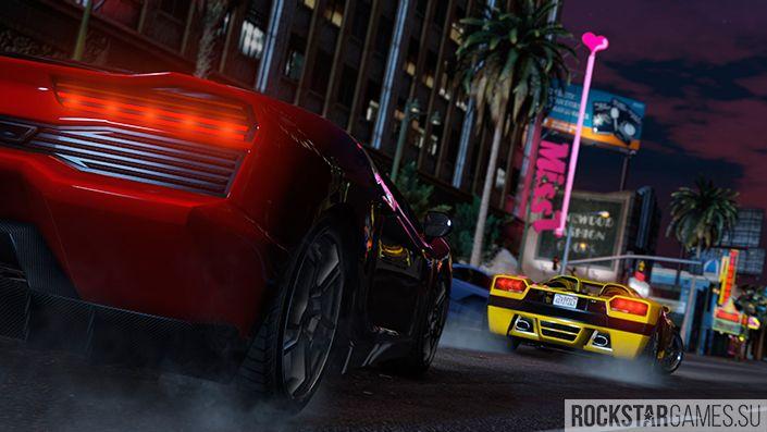 Ночные гонки в GTA Online
