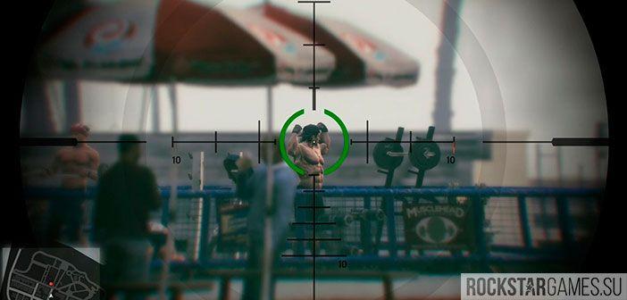 Убийство - 4 цели - миссия GTA 5