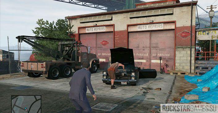 Эвакуатор - миссия GTA 5