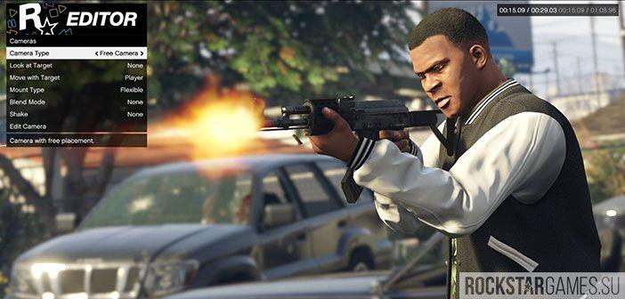 Rockstar Editor выйдет на Xbox и PS