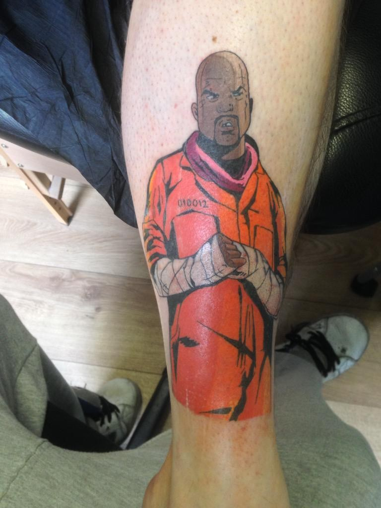 Творчество фанатов GTA - татуировка Восьмерки