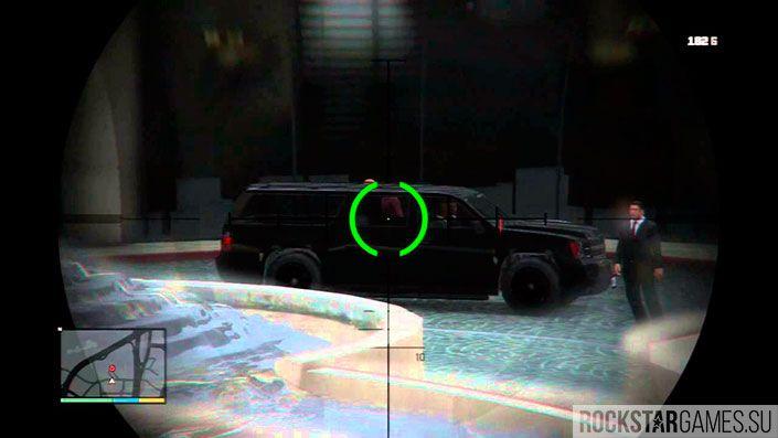 Убийство - Отель - миссия GTA 5