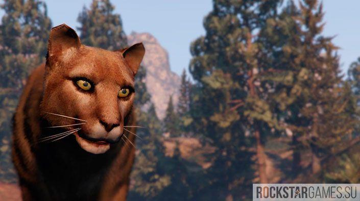 Животные в GTA