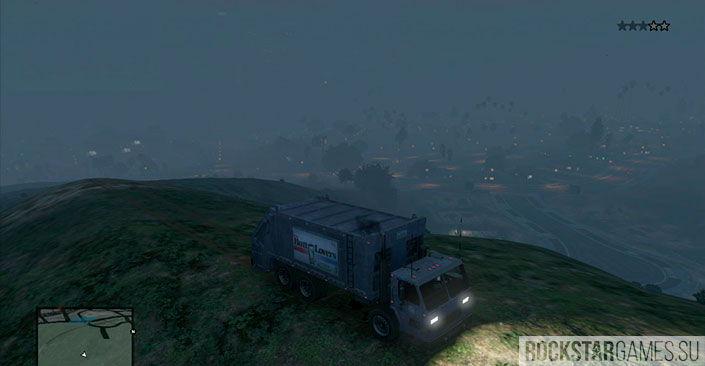 Мусоровоз - миссия GTA 5