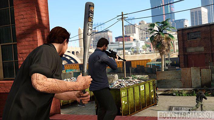 Перестрелки в GTA Online