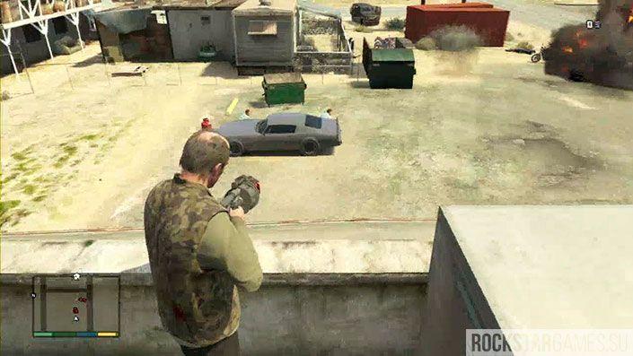 Тревор Филипс Индастриз - миссия GTA 5